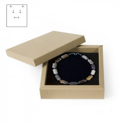 Caja Bisel 125x125x30 mm.