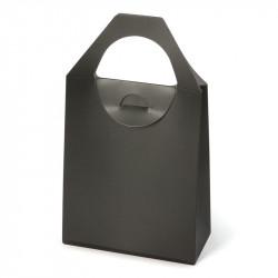 Bolsa de papel con asa troquelada